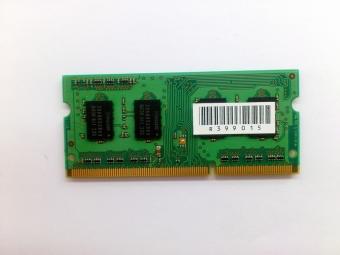 SO-DIMM DDR3 2Gb PC3-10600 ОПЕРАТИВНАЯ ПАМЯТЬ